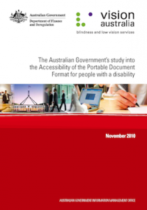 Cover of the AGIMO report