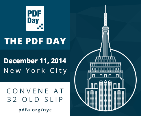 PDF Day New York City