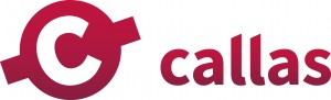 callas logo in red
