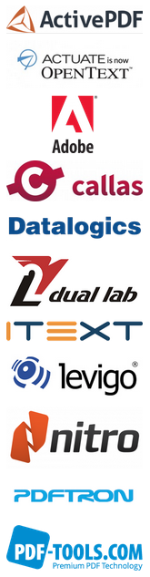 Technical Conference sponsor logos