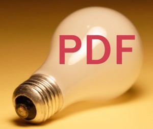 PDF lightbulb
