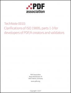 TechNote 0010, cover image.