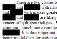 Example redaction