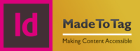 InDesign MadeToTag logo