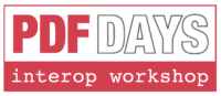 PDF Days Interop Workshop