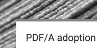 PDF/A adoption