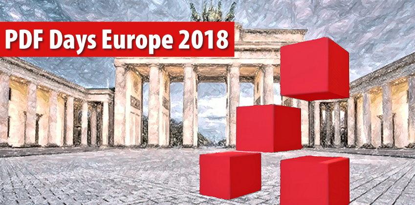 PDF Days Europe 2018