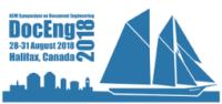 DocEng 2018 logo