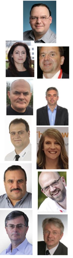 2018 Board of Directors faces.