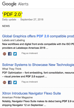 """Google search results for """"PDF 2.0""""."""