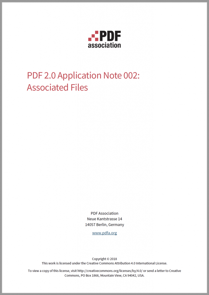 Cover of Application Note 002.