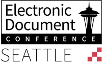 Electronic Document Conference Seattle logo