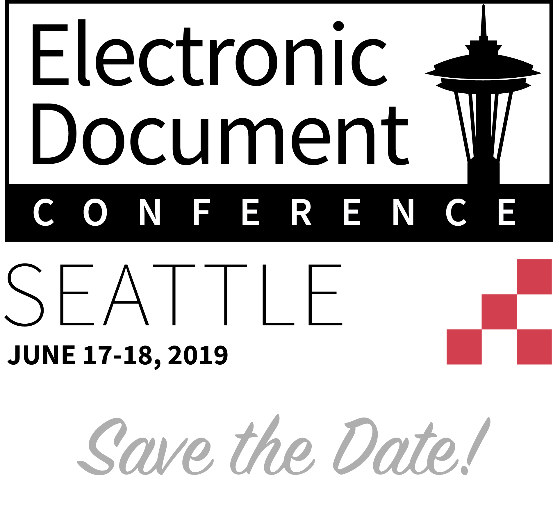 Electronic Document Conference logo.