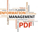 Information management word cloud PDF