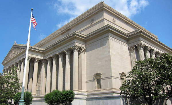 US National Archives building