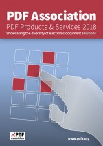 PDF Products & Services 2018 cover