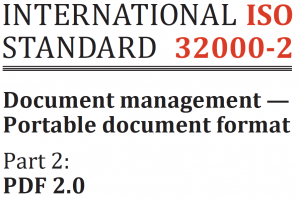 PDF 2 0: The worldwide standard for electronic documents has evolved