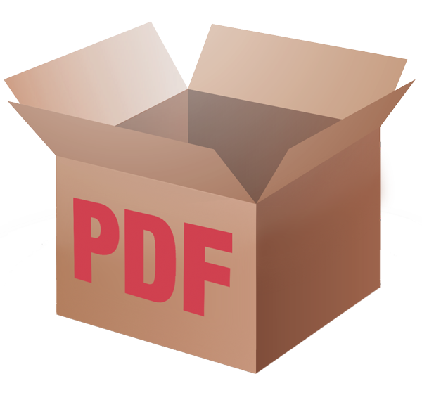 Cardboard box with