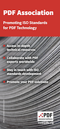 PDF Association flyer cover
