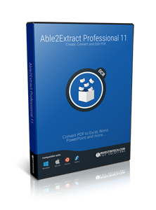 able2extract professional pin
