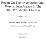 Cover of the Mueller Report