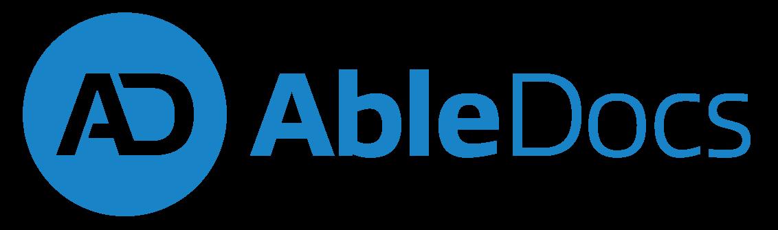 AbleDocs logo