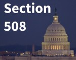Section 508 and the US Capitol building.