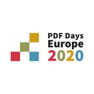 PDF Days 2020 logo