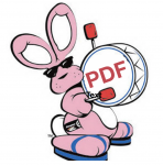 Rabbit beating a PDF drum.