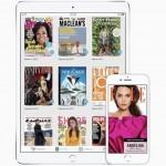 Screenshot of a mobile magazine UI.