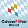 OctoberPDFest Online logo
