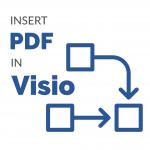insert pdf in visio