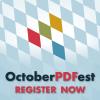 OctoberPDFest Online: Register NOW!