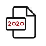 2020 document icon