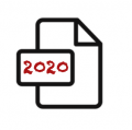 2020 document icon