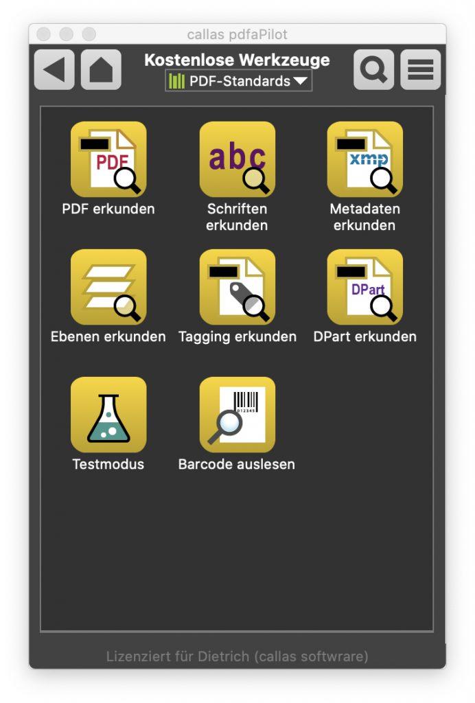 callas-pdfaPilot-10-Tools