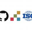 Github, PDF Association and ISO logos