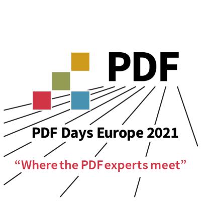PDF Days Europe 2021: